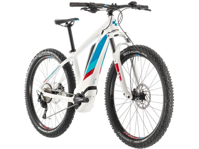 Cube Access Hybrid Pro 500 E-mountainbike Damer hvid (2019) | City-cykler